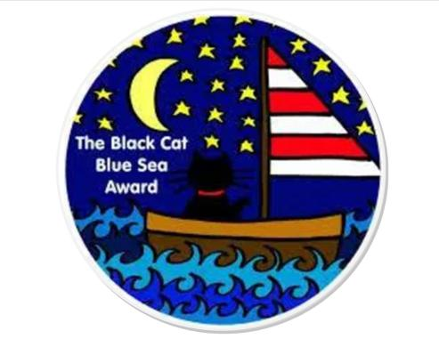 Thank you! My Black Cat Blue Sea Award